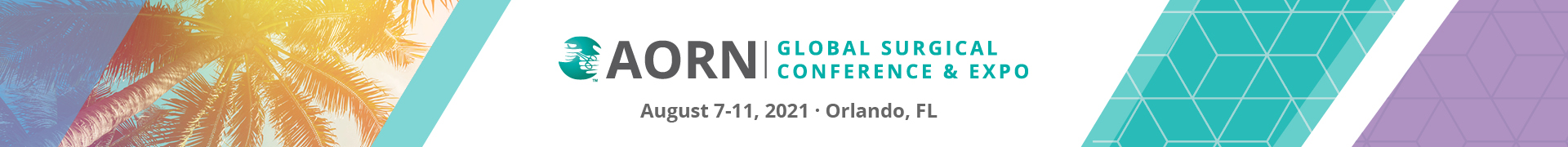 AORN Global Surgical Conference & Expo 2021 Event Banner