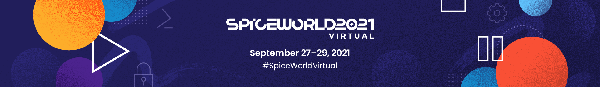 SpiceWorld Virtual 2021 Event Banner