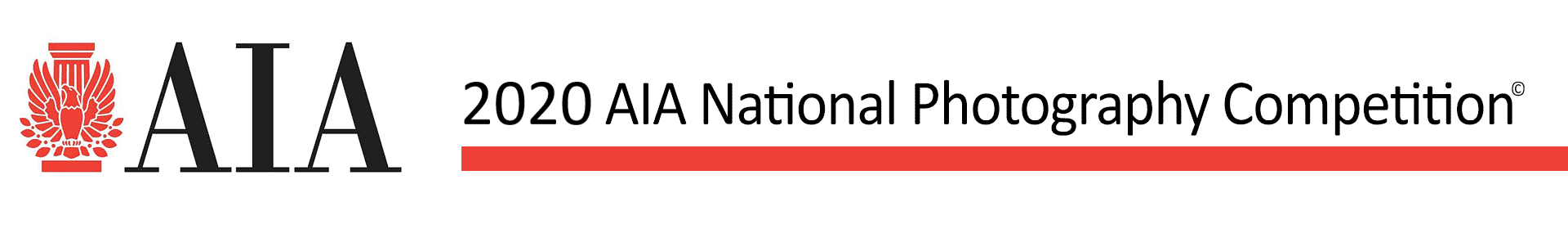 2020 AIA National Photography Competition Event Banner